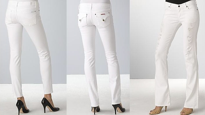 Hindsight Fashion: White Jeans | The Hindsight Letters